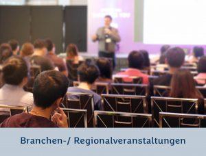 Branchen- / Regionalveranstaltungen