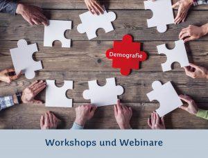 Workshops und Webinare